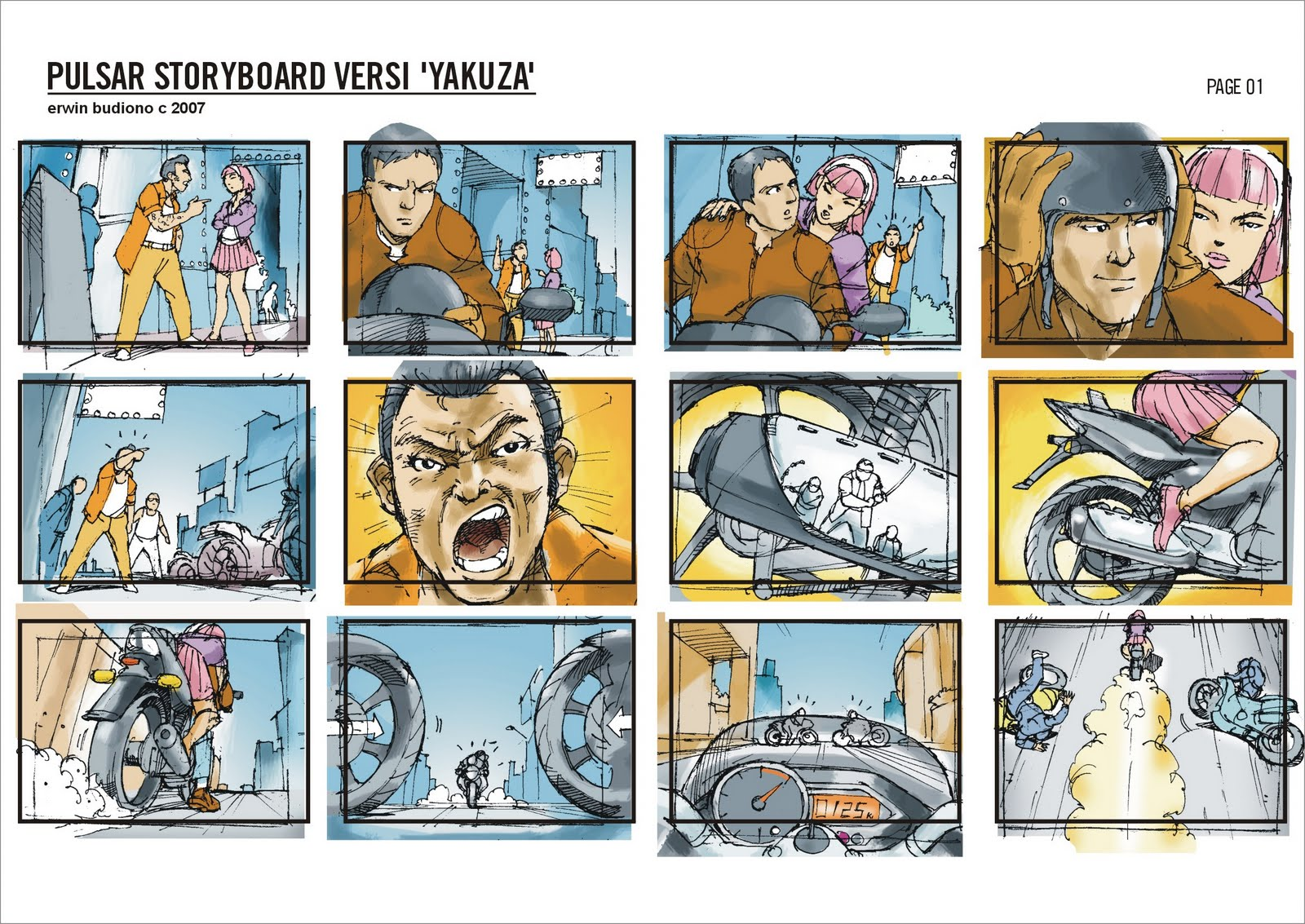Storyboard Central Greetings From BandungIndonesia  Ux Comics
