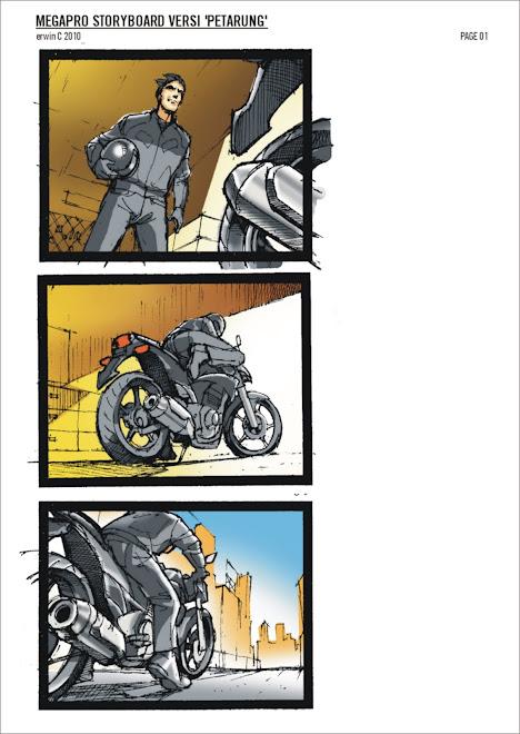 MEGAPRO 1 storyboard