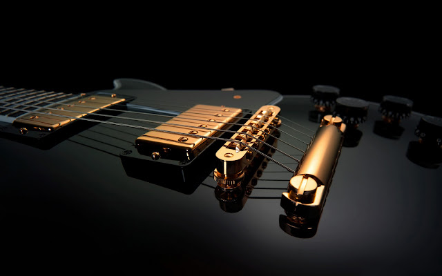 music wallpaper guitar. wallpaper music black.