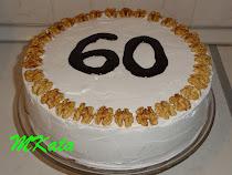 Csokis diókrémes torta