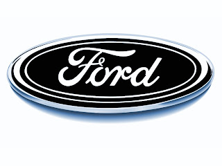 black ford logo