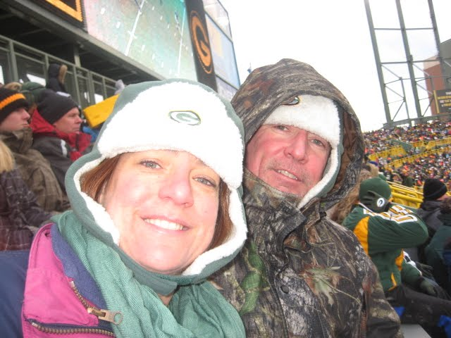 It was a cold December Day at Lambeau field when we arrived into the sea of  humanity tailgating in the adjoining parking lots, front yards, ...