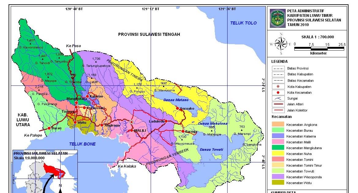signal geo peta sulawesi selatan