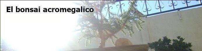 El bonsai acromegalico