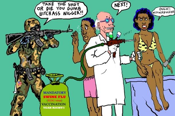 Mandatory swine flu shots