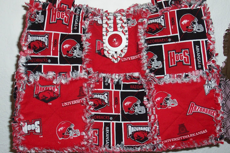 Linda's Arkansas Razorback Bag