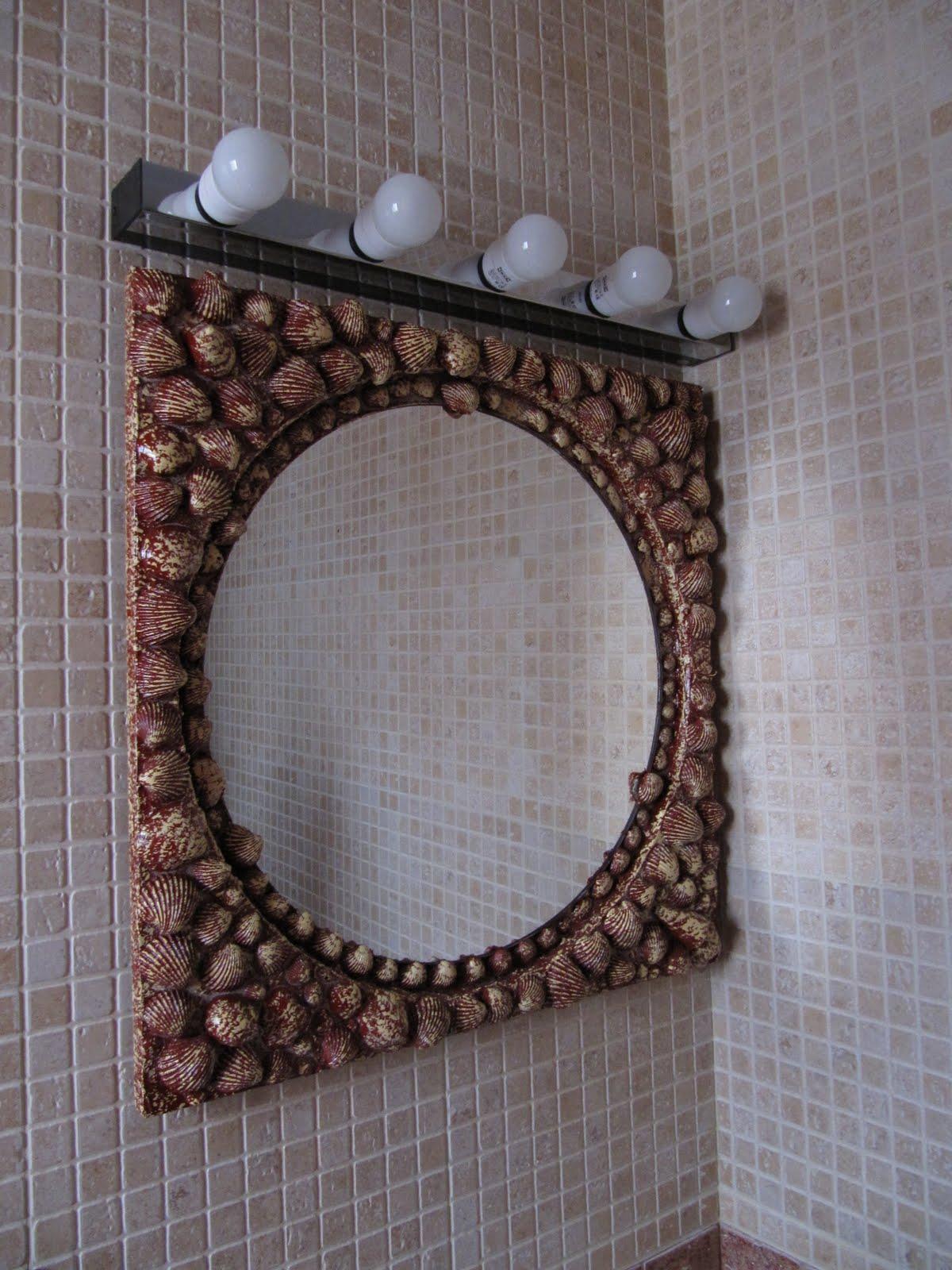 Taller de manualidades hoy como reciclar un viejo espejo - Hacer marcos para espejos ...