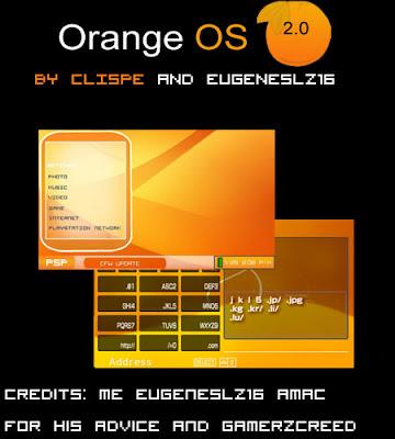Orange OS 2.0 psp themes
