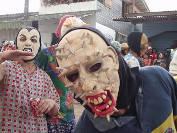 Máscaras - Festa de São Tiago