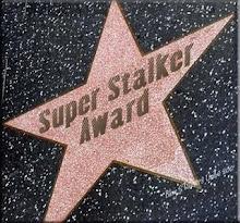 SUPER STALKER AWARD