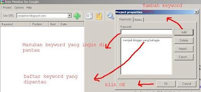 memantau posisi keyword seo dengan google monitor