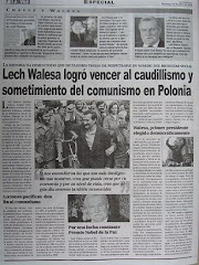 Lech Walesa logro vencer al caudillismo y sometimiento del comunismo en Polonia