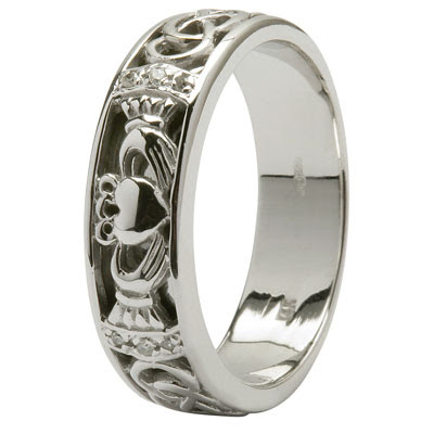 the claddagh wedding rings miracle wedding rings. Black Bedroom Furniture Sets. Home Design Ideas