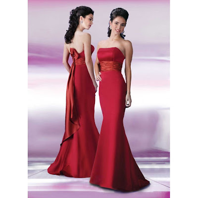 Mermaid bridesmaid dress