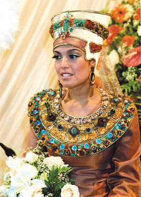Egyptian wedding dresses