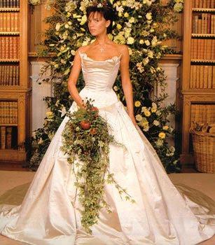 Celebrity wedding dresess