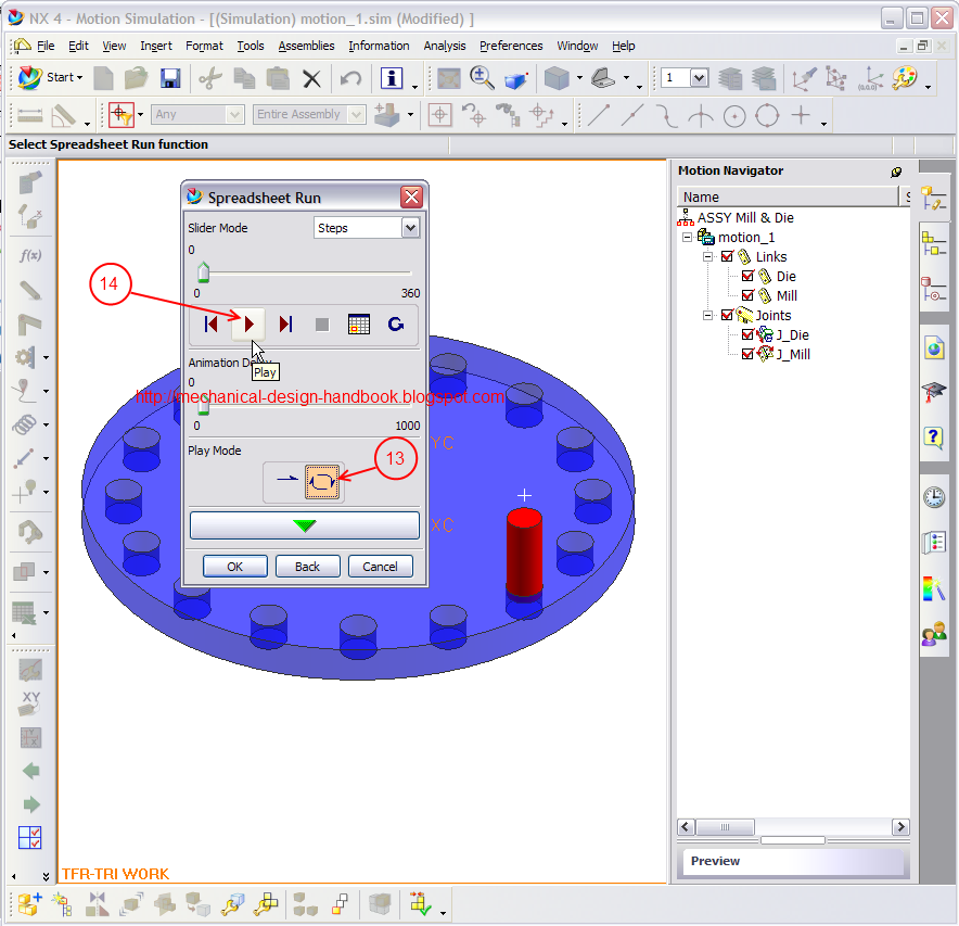 how to use unigraphics nx4 motion simulation in timing diagram rh mechanical design handbook blogspot com EMC NX4 NX4 Helicopter