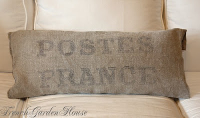 Antique French on Frenchgardenhouse  Weekly Favorites Antique French Grainsack Pillows