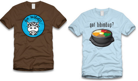 funny hilarious culture tee t-shirt south korean food humor joke apparel clothing men women