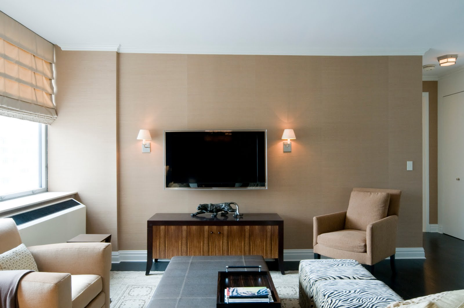 Marvelous There Are Many Ways To Work A TV Into Your Home. New York City Interior  Designer, Inson Wood Of Inson Dubois Wood LLC Shows Us How His Design Firm  Manages ...