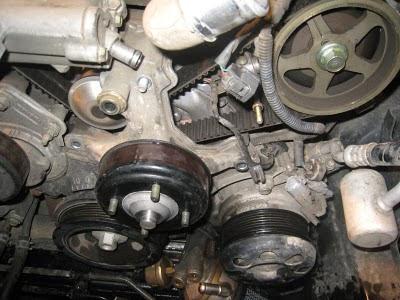 M3 PINK: Changing it up! Toyota Land Cruiser 2UZ-FE Timing Belt Change