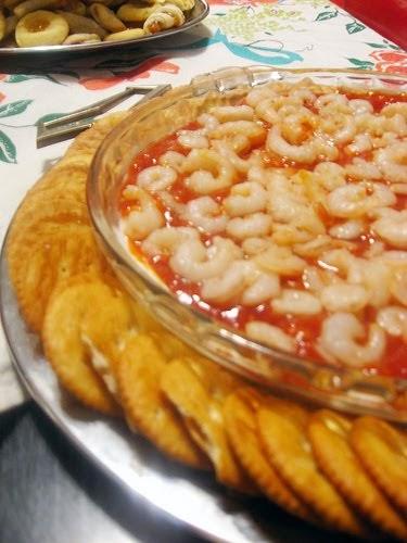 Home Baked Memories Easy Cream Cheese Shrimp Dip