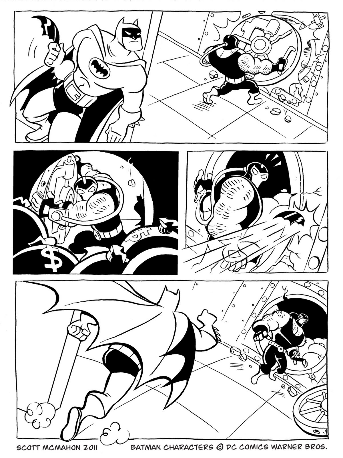 Colouring pages batman vs and comic strips on pinterest for Comic strip coloring pages