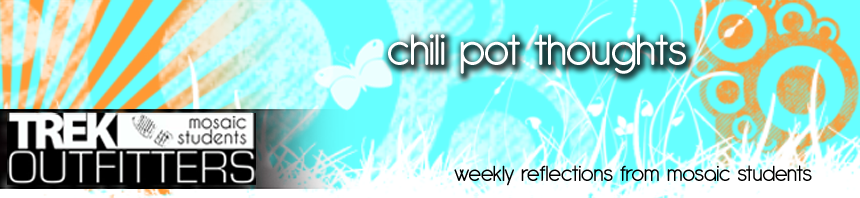 Chili Pot Thoughts