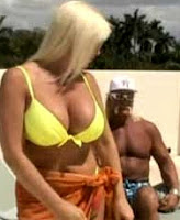 Linda Hogan with Hulk Hogan