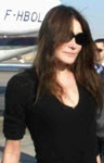 Carla Bruni in Luxor