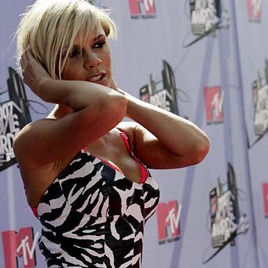 Victoria Beckham at the MTV Movie Awards in LA