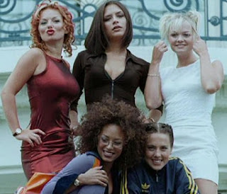 Spice Girls in the 90's
