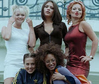 Spice Girls in mid 90's
