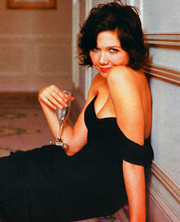 Maggie Gyllenhaal Lingerie and Batman