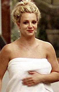 Britney Spears and her 'skimpy' towel