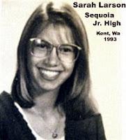 Sarah Larson in 1993
