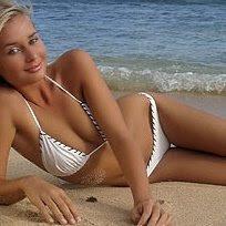 Amber Hay bikini