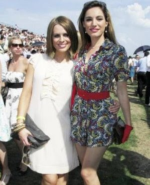 Kelly Brook and Susie Amy