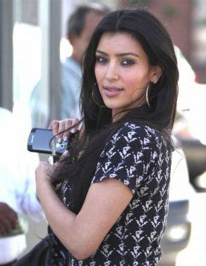 Kim Kardashian at XIV Karats