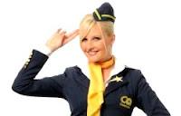 Michelle Marsh CelebAir salute