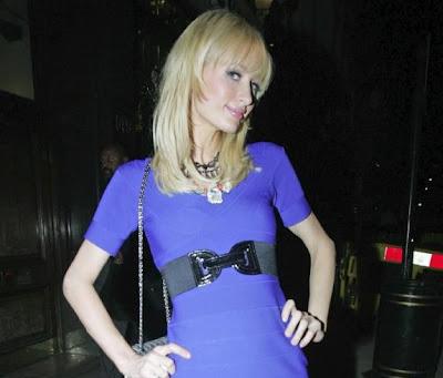 Paris Hilton in London