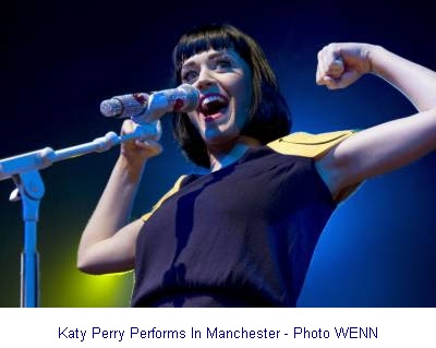 Katy Perry in Manchester