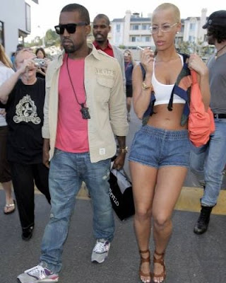 amber rose and kanye west at the beach. Kanye west auto tune songs