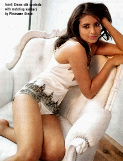 Konnie Huq in her silk knickers