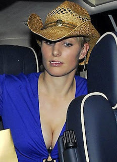 Zara Phillips cleavage