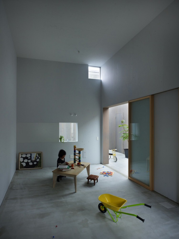 Interior home design neo siheyuan inspired home in japan for Neo inspiration interior design