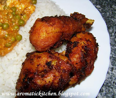 Kerala Chicken Fry Recipe