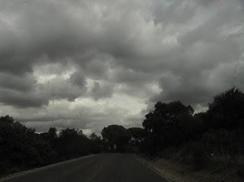 Nubes que llegan a Córdoba