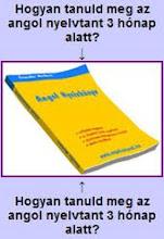 Angol nyelvkönyv ajándékba