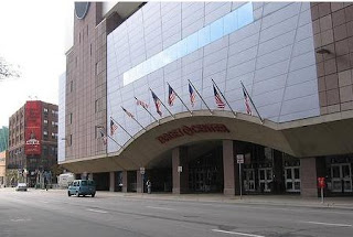 Outside View of the Target Center